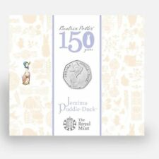 50p Beatrix Potter Jemima Puddle Duck Coin 2016 Fifty Pence SEALED Coins Rare