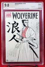 WOLVERINE #310 PGX (not CGC) 9.8 NM/MT Original Sketch Cover by TIM SHINN !!!
