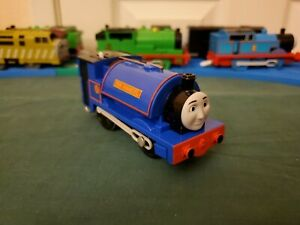 Fisher Price Thomas Friends Trackmaster Sir Handel the Blue NG Engine WORKS VGUC