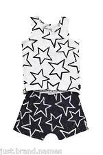 Bonds Girls Boys Children 2 Piece Singlet PJ Sleepwear Set sizes 4 5 6  Stars