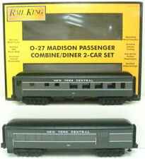MTH 30-6257 New York Central Combine/Diner Passenger Set NIB