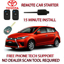 2018 TOYOTA YARIS REMOTE START-NO WIRE SPLICING - REGULAR KEY ONLY