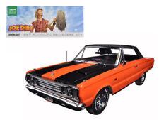 Greenlight 1:18 JOE DIRT Movie 1967 Plymouth Belvedere GTX Diecast Orange 19006
