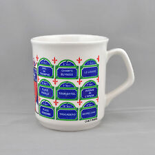 Paris France Coffee Mug Cup Coat Of Arms Fleur de Lis