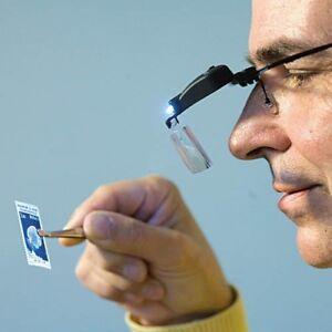 Magnifier glasses VISIR, 3different clip-on magnifier attachm. (1,5x, 2,5x, 3,5x