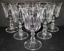 "6 Royal Crystal Rock Victoria Cut Vertical 9 Oz Water Goblet 6 3/8"" (18 Avail.)"