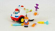 HOLA - Jouet 2-en-1 Ambulance Médecin Véhicule Ensemble interactif pour enfant