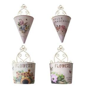 Plastic Wall Hanging Planter Flower Vase Pots Basket Holder 2021 New Style