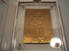 Steve Young Highland Mint Limited Edition Bronze Card