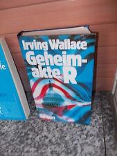 Geheimakte R, ein Roman von Irving Wallace
