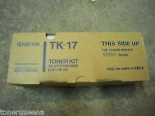 New ! Genuine Kyocera Mita FS-1000 FS-1010 FS-1050 Toner Cartridge TK17 TK-17