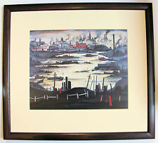 L.S Lowry THE LAKE Framed Print