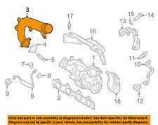 282852B710 Hyundai Pipe assyturbocharger 282852B710
