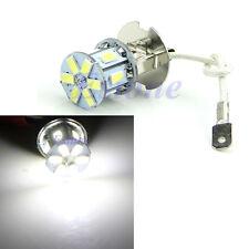 H3 5630 12-LED SMD 600LM Lamp Bulb Car Fog Tail Driving Head Light Pure white