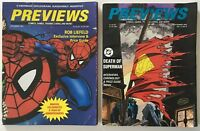 Previews Catalog Magazine Comic Book Price Guide December 1991 / September 1992