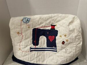 Sewing Machine Dust Cover * Sewing Machine  Pattern * Quilted * and Lined