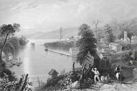 CANADA Hallowell Bay of Quinte - 175 Years Old Print by BARTLETT