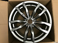 "GENUINE BMW X5 E70 X6 E71 20"" REAR ALLOY WHEEL STYLE 435M 7845863 7845861 11Jx20"