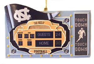 North Carolina Tar Heels Scoreboard Ornament