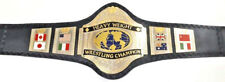 WWF Hulk Hogan 86 World Heavyweight Wrestling Championship Belt