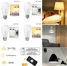 WiFi Smart LED Light Bulb for App by iOS Android Amazon Alexa Google Home 15W US