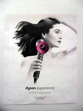 PUBLICITE-ADVERTISING :  DYSON Supersonic  2016 Sèche-cheveux