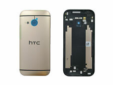 Genuine HTC One Mini 2 (M8 2014) Gold Rose Laser Etching Rear / Battery Cover -