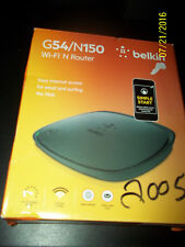 New Belkin G54/N150 Wi-Fi Router Simple Start -Easy Install