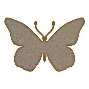 Butterfly  MDF Laser Cut Craft Blanks in Various Sizes