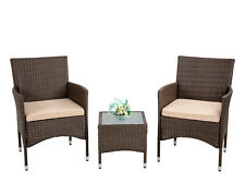 Patio Furniture Sets 3 Pieces Wicker Bistro Set Outdoor Patio Set Rattan Chair