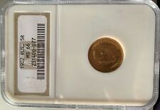 New Listing1902 Russia 5 Roubles Gold coin Ngc Ms-66