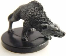 D&D Miniature  -  TIMBER WOLF  #2   (Deathknell Series - SEALED with CARD!!)