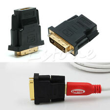 DVI-D Male 25 Pin to HDMI Female Converter Adapter Connector for HDTV DVD LCD