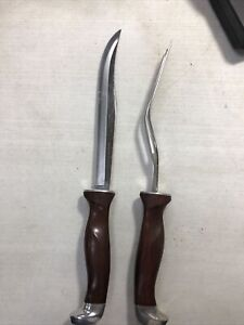 GORGEOUS CUTCO 2 - PIECE CARVING SET Pre Owned # 1002 ,1003