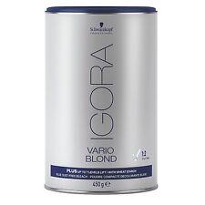 Schwarzkopf IGORA VARIO PLUS Powder BLOND Bleach Blue With WHEAT STARCH 450g