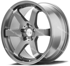 "Alloy Wheels 18"" ZX6 For 5x108 Ford Kuga Mondeo S Max Transit Connect Grey"