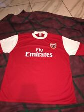 Cesc Fabregas Arsenal Jersey UK made Size Medium Men's Unofficial Pro Futbol