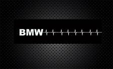 2x Herzschlag für BMW Auto Aufkleber Seitenscheibe Tuning Sticker  19x 1,5cm