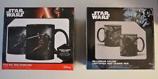 2 Star Wars Millennium Falcon Light speed Heat Change Ceramic Coffee Mug / Cup +