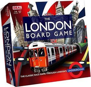 The London Board Game by Ideal John Adams