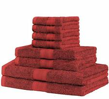 100% Cotton skin friendly Bath towel Hand towel Face Washer or 8 piece set