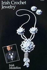 Irish Crochet Jewelry  Irish Medallion   Annie's Attic