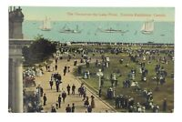 Terrace Lake Front Toronto Ontario Canada Unposted Written On Postcard E564