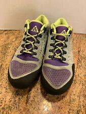 2011 Nike ACG Talaria Boot Beaverton Oregon Gray Green Purple Men's Size 9 *READ
