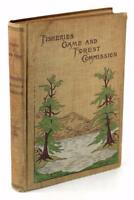 1899 4th Annual Report Commissioners Fisheries Game & Forests of the State of NY