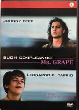 Dvd Buon Compleanno Mr. Grape con Johnny Depp 1993 Usato