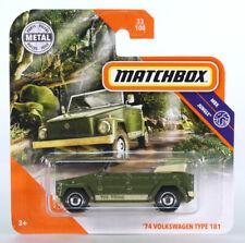 MATCHBOX VW KÜBELWAGEN TYP / TYPE 181 THE THING - Grün / Green - OVP/MOC