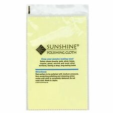 [FIVE] SUNSHINE POLISHING CLOTHs - HIGH QUALITY JEWELRY CLOTH