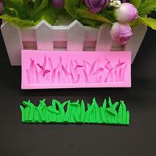 3D mini Grass Silicone Fondant Mould Cake Decorating Sugar Baking Icing Mold 1x
