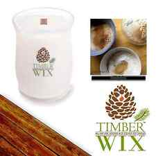 Timber Wix Wooden Wick Soy Candles ALL-SPICE 14oz., 100Bh Natural US Grown Soy